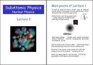 Nuclear and Particle Physics SubAtomic Physics