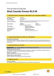Shell Cassida Grease RLS 00 - Lubritec