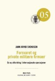 05 - Institutt for Forsvarsstudier - Forsvaret
