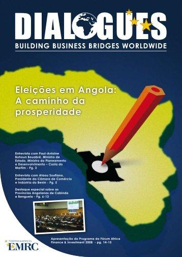 Eleições em Angola: A caminho da prosperidade - EMRC