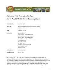 3/21/13 Public Forum Summary Report - VHB.com