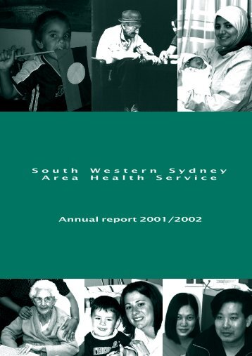 2001-02 Annual Report - Sydney Local Health District - NSW ...