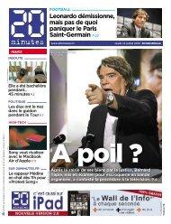 Leonardo démissionne, mais pas de quoi paniquer le ... - 20minutes.fr