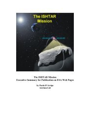 The ISHTAR Mission