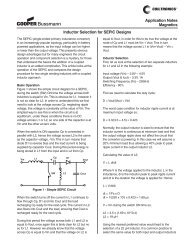 Inductor SEPIC App Notes - SMD Technology Kft.