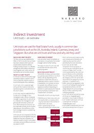 Indirect Investment - Nabarro
