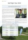 JULI 2010 FORE! - Golfclub Schloss Liebenstein - Page 6