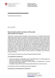 Ufficio postale 7213 Valzeina - PostReg - admin.ch