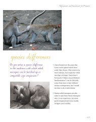 species differences - Animal Welfare Institute