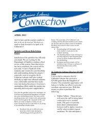 APRIL 2013 - Catholic Health System