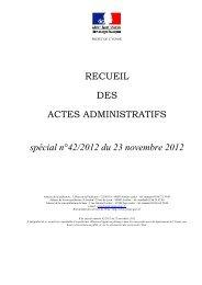 recueil special n°42 - Les services de l'État dans l'Yonne