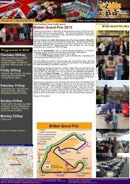 British Grand Prix 2013 - Pole Position Travel