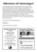 Program för Salemsdagen 2011 - Salems kommun - Page 2