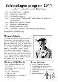 Program för Salemsdagen 2011 - Salems kommun - Page 4