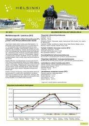 Helsingin matkailun tunnuslukuja 12/2012 pdf-tiedosto, koko 745 kt