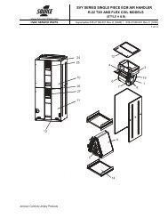 svy series single piece ecm air handler r-22 txv and ... - Upgnet.com