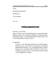 Beschwerdeschrift vom 06.05.2007
