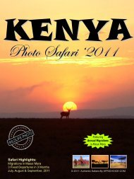 to download print-friendly format of this safari - AfriChoice Tours ...