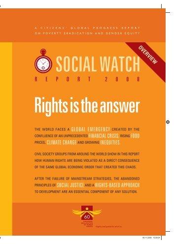 Netherlands - Social Watch