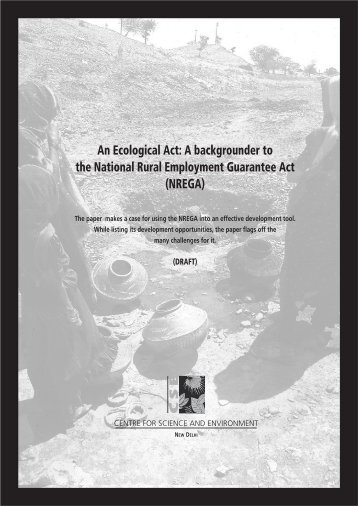 An Ecological Act: A Backgrounder To - Diksha