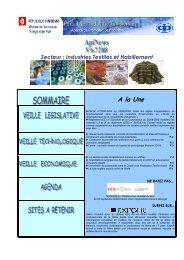 Secteur : Industries Textiles et Habillement A la Une - Tunisian ...