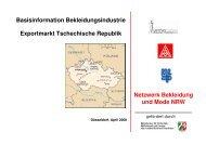 Netzwerk Bekleidung und Mode NRW Basisinformation - ZiTex