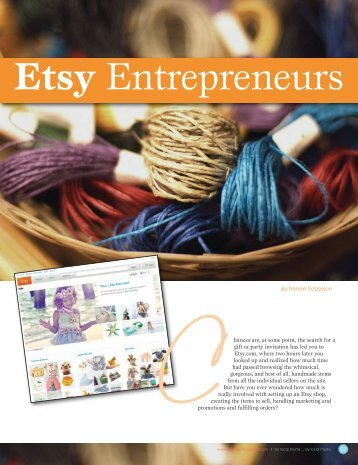 Etsy - Little Ones Magazine