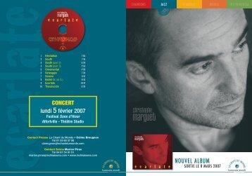 NOUVEL ALBUM - Le Chant Du Monde