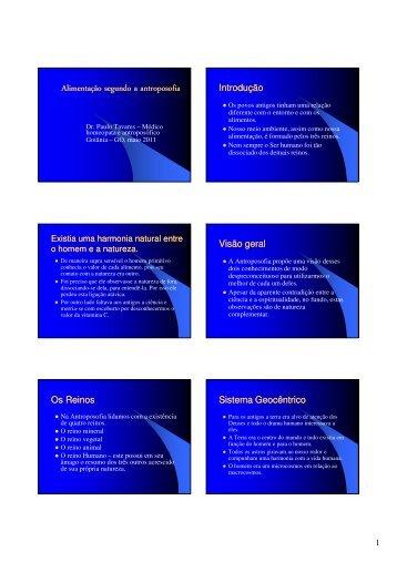 (Microsoft PowerPoint - Alimenta\347\343oantro-0511.ppt [Modo de ...