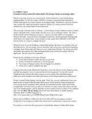 LAWPRO E-Alert: Forged Bank Draft Scheme On ... - practicePRO.ca