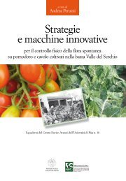 Strategie e macchine innovative per il controllo della ... - Enrico Avanzi