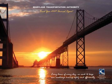 Annual Report Fiscal Year 2007 - MdTA