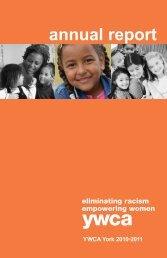 2010 - 2011 Annual Report - YWCA York
