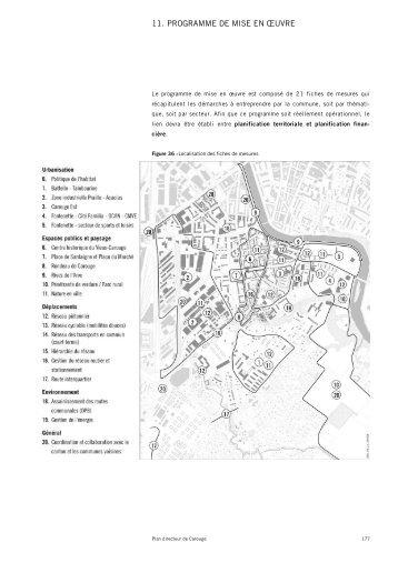 11. PROGRAMME DE MISE EN ŒUVRE - Etat de Genève