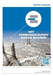 MIT VERBUNDKÄUFEN BARES SPAREN - Reuss-Seifert GmbH