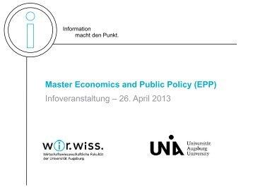 Folien zur Masterinformationsveranstaltung (26.04.2013) - WiWi ...