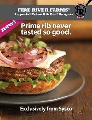 Prime rib never tasted so good. - Sysco Canada
