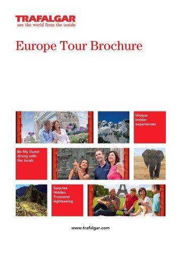 Europe Tour Brochure - TPI Worldwide