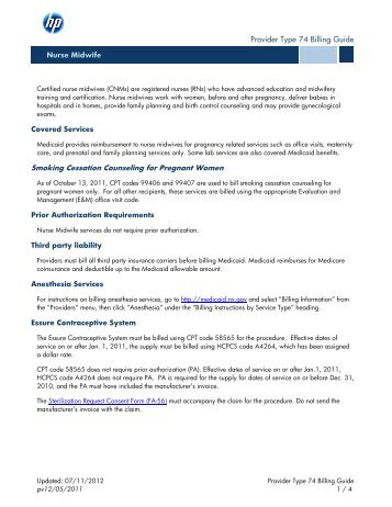 New york state medicaid program clinical social worker billing.