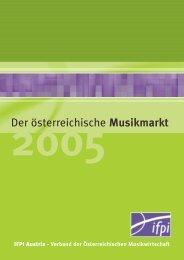 marktbericht 2005.indd - IFPI Austria
