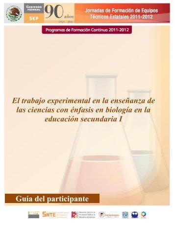 El trabajo experimental en la enseñanza de las ciencias con énfasis ...