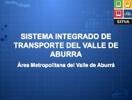 SISTEMA INTEGRADO DE TRANSPORTE DEL ... - Clean Air Institute