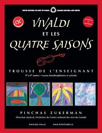 Vivaldi et les Quatres Saisons - ArtsAlive.ca