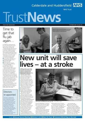 TrustNews - Calderdale and Huddersfield NHS Foundation Trust