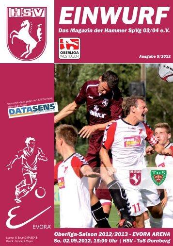 Stadionmagazin öffnen - Hammer Spielvereinigung