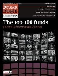 PI Special Report June 2013 - Pensions Insight