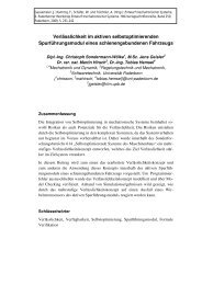 Sondermann-Wölke, C.; Geisler, J.; Hirsch, M.; Hemsel, T.
