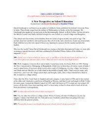 A New Perspective on School Education - Azim Premji Foundation