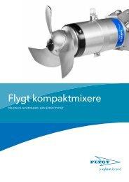 Kompakte mixere for maksimal fleksibilitet. - Water Solutions