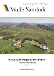 6. Konsekvensutredning - Sandnes Kommune